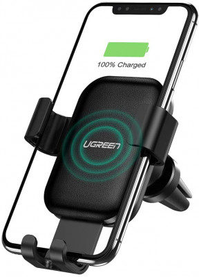 Ugreen Car mount with 10W cordless charger