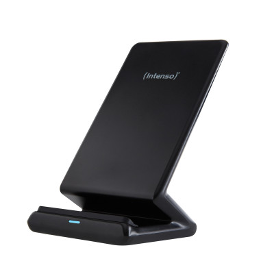 Intenso wireless induction charger BSA1, black, up to 10W with adapter