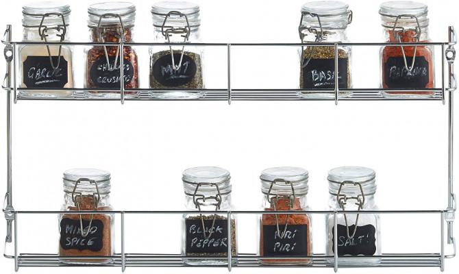VonShef spice rack 2 levels