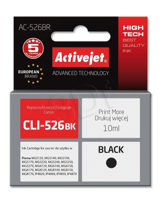 ActiveJet black ink Canon CLI-526BK