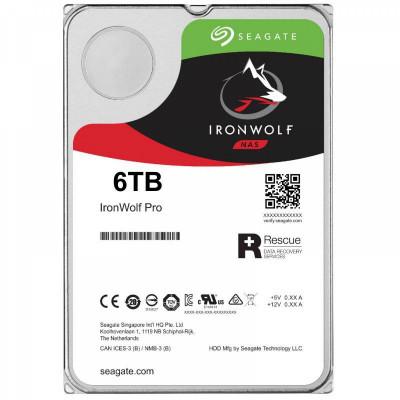 Seagate NAS hard drive 6TB 7200 256MB SATA3 IronWolf PRO