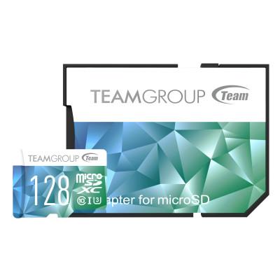 Teamgroup Color Card II 128GB MicroSDHC / SDXC UHS-I U3 90MB / s memory card