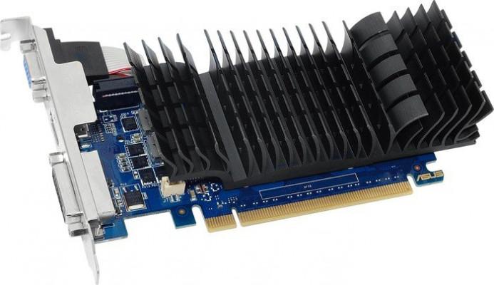 ASUS GeForce GT 730 graphics card, 2GB GDDR5, PCI-E 2.0