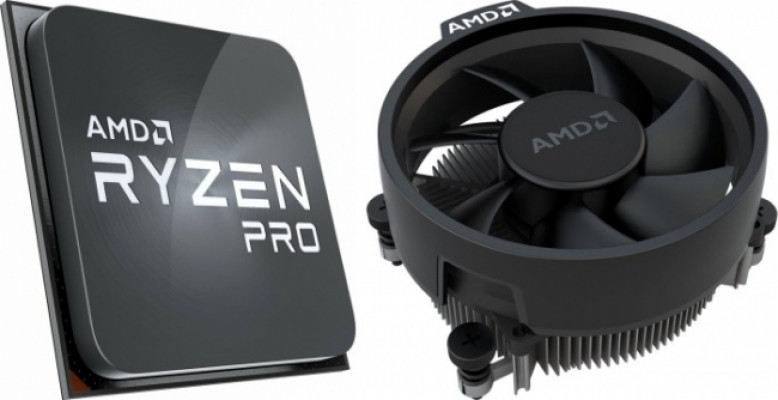 AMD Ryzen 7 PRO 4750G processor with included Wraith Stealth cooler - MPK