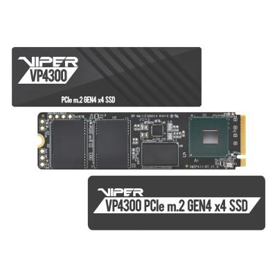 Patriot Viper VP4300 7400/6800 MB`s 1TB M.2 NVMe PCIe Gen4 x4