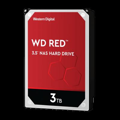 WD hard drive 3TB SATA3, 6Gb / s, 5400rpm, 256MB RED
