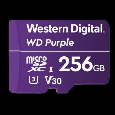 WD 256GB Purple microSD card