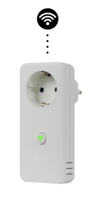 MILL Wi-Fi smart socket with built-in thermostat