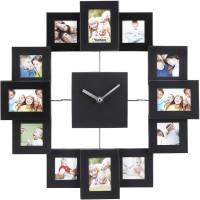 VonHaus zidni sat sa okvirima za slike 4,5x4,5cm 4,5x6,5cm