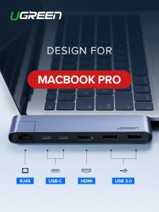 Ugrađena priključna stanica za MacBook + RJ45