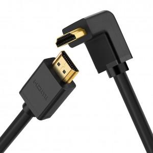 Ugreen HDMI Kutni kabel v1.4 2m