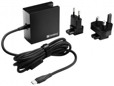 """Univerzalni izvor napajanja USB-C 65W Sandberg s funkcijom """"Snaga napajanja"""""""