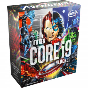 Intel Core i9 10850K BOX procesor - Marvel's Avengers Collector's