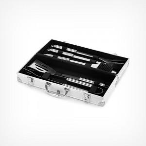 VonHaus pribor za roštilj i pribor (postavljen u kovčegu)