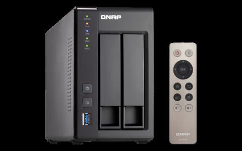 QNAP TS-251 + 8GB NAS poslužitelja za 2 diska