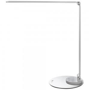 TaoTronics LED stolna svjetiljka bijela aluminijska TT-DL066