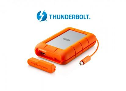 LaCie 4TB Rugged RAID Thunderbolt i USB 3.0