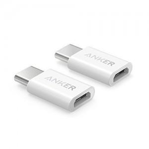 Anker USB-C do Micro USB adapter bijeli 2 kom