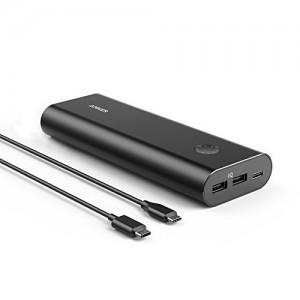 Anker PowerCore + 20.100 mAh USB-C crni