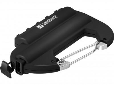 Sandberg Powerbank IP67 6000mAh s karabinerima