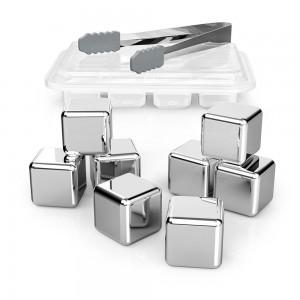 TaoTronics TT-HP005 setovi od 8 kockica leda (nehrđajući čelik)