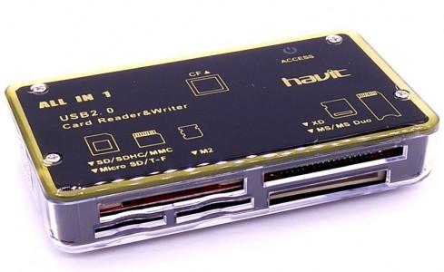 HAVIT Čitač memorijskih kartica 6-u-1 HV-C25