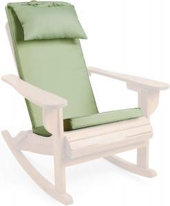 VonHaus Adirondack jastuk za stol - zelen
