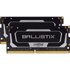 Ključni Ballistix 32GB kit (2 x 16GB) DDR4-2666 SODIMM PC4-21300 CL16, 1.2V