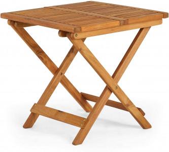 VonHaus sklopivi drveni stol 50 x 50 x 50cm