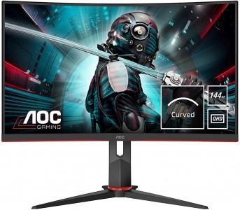 AOC CQ27G2U 27'' ukrivljen gaming monitor
