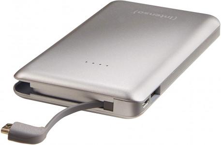 Prijenosna baterija Intenso S 10000mAh - srebrna