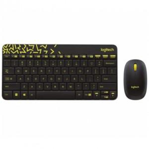 Logitech tipkovnica + miš Logitech Wireless Desktop MK240 NANO