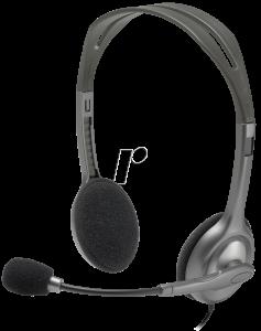 Logitech H111 stereo slušalice na uho