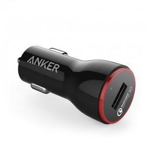 Anker PowerDrive + 1 24W QC 3.0 automobilski punjač