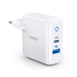 Anker PowerPort II 1 PD i 1 PIQ 2.0 bijeli 18W