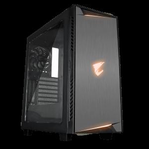 Gigabyte AC300W LITE ATX AORUS RGB kućište, crno