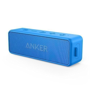 Anker SoundCore 2 Bluetooth 4.2 zvočnik 2x6W IPX5 vodoodporen moder