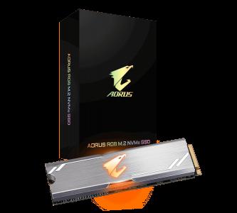 GIGABYTE AORUS RGB M2 NVME SSD 512GB