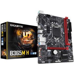 GIGABYTE B365M H, DDR4, SATA3, USB3.1Gen1, HDMI, LGA1151 mATX