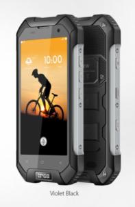 Blackview BV6000 mobilni telefon - crna