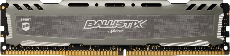 Presudni Ballistix Sport LT Grey 8GB DDR4-3200 UDIMM PC4-25600 CL16, 1,35 V