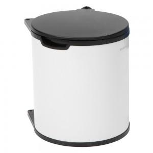 Brabantia ugrađena košara za smeće 15L bijela