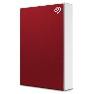 Seagate 5TB BackUp Plus tanki, prijenosni pogon 6,35 cm (2,5) USB 3.0, crveni