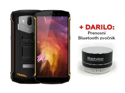 Blackview BV5800PRO Yellow + Gift: Prijenosni zvučnik