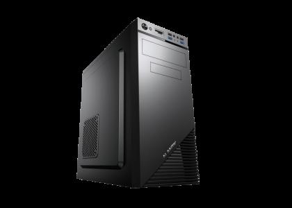 Kućište ALANTIK CASA24 USB3 ATX s 500W napajanjem + čitač kartica
