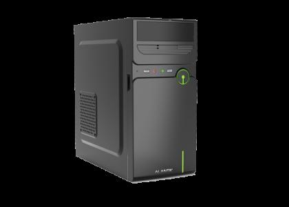 ALANTIK CASM12 USB3 mATX kućište s 500W napajanjem + čitač kartica