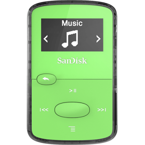 SanDisk CLIP JAM MP3 player 8GB Green