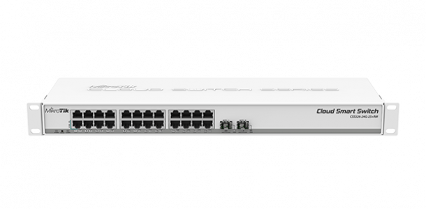 Micro NET NET ROUTER / SWITCH 24PORT CRS326-24G-2S + RM