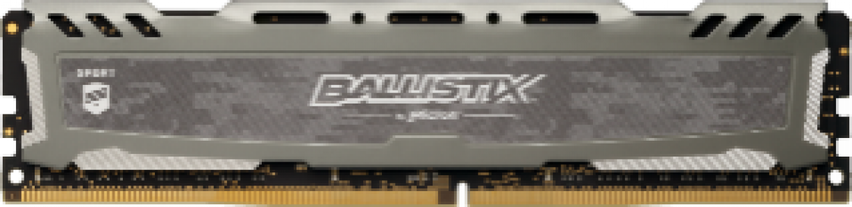 Presudni Ballistix Sport LT Grey 16GB DDR4-3200 UDIMM PC4-25600 CL16, 1,35 V