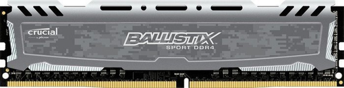 Presudni Ballistix Sport LT Grey 16GB DDR4-2666 UDIMM PC4-21300 CL16, 1.2V